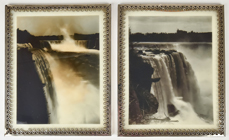 Two Opalotype Photographs of Niagara Falls