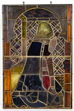 19th Century Tiffany Style Stain Glass Window