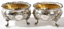 PR. OF FANCY COIN SILVER SALTS BY GORHAM CO.