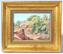 MARGARET D. MOORE EWERT OIL PAINTING