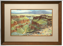 WEBB YOUNG (NEW MEXICO) WATERCOLOR