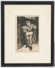 WILLIAM MERRITT CHASE ETCHING