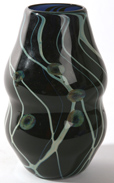 DEL METTO, OHIO CONTEMPORARY ART GLASS VASE