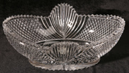 UNUSUAL BRILLIANT CUT GLASS BOWL