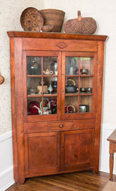 Early Cherry Corner Cabinet