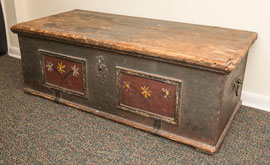 Early Decorated Blanket Chest