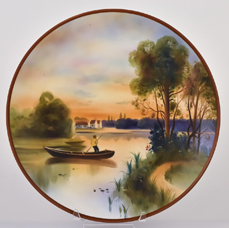 Large Nippon Scenic Plaque