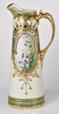 Nippon Pitcher with Gold and Jewels