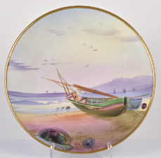 Nippon Plaque with Sailboat