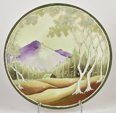 Nippon White Woodland Plaque