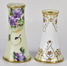 Two Nippon Hatpin Holders