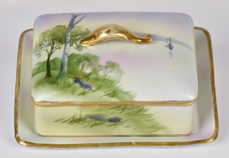 Scenic Covered Dish with Undertray