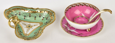 Nippon Mayonnaise Set and Jeweled Tray