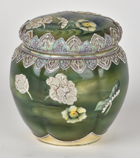 Nippon Humidor with Moriage Water Lillies